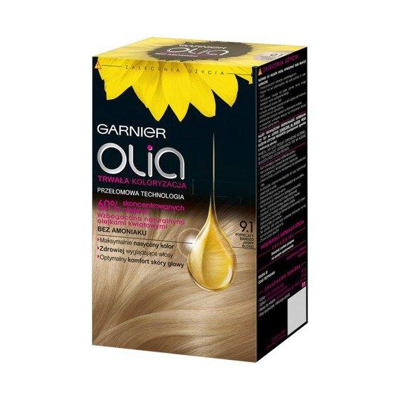 Garnier Olia Hair Dye 9 1 Very Light Ash Blonde Online