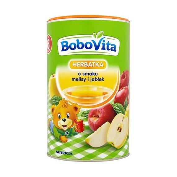 BoboVita flavored with lemon balm tea and apples after 6 ...
