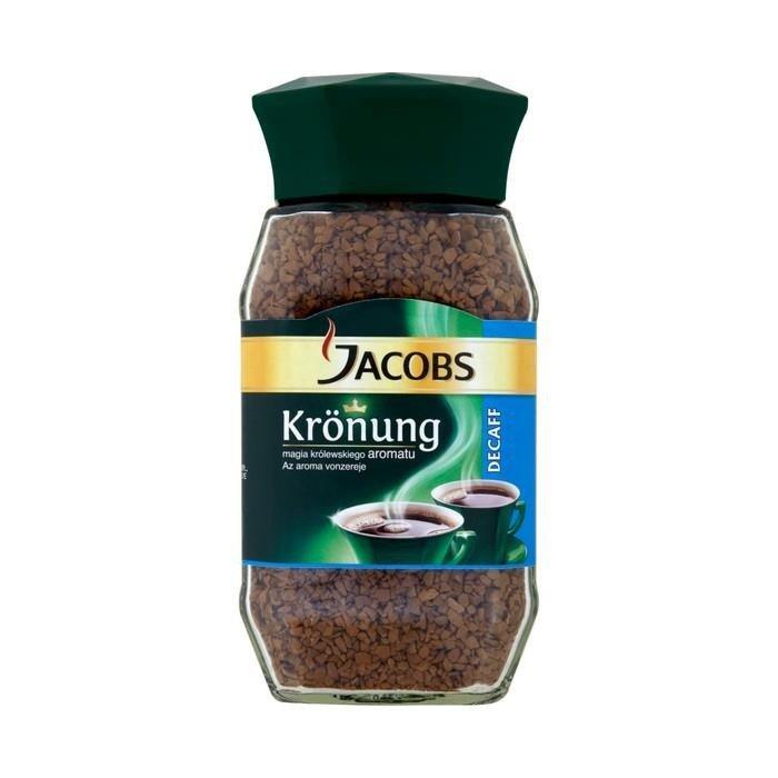 Tassen Jacobs Krönung : Jacobs kr?nung decaff kawa bezkofeinowa rozpuszczalna g