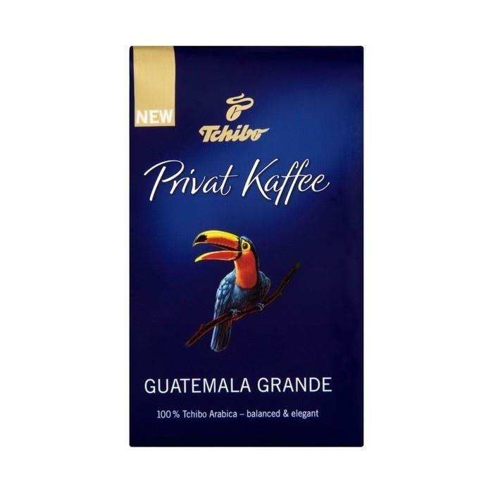 tchibo privat kaffee guatemala grande kawa palona mielona. Black Bedroom Furniture Sets. Home Design Ideas