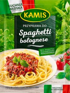 Kamis Kuchnia Włoska Przyprawa Do Spaghetti Bolognese Mieszanka Przyprawowa 15g