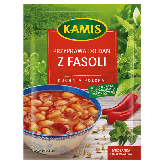 Kamis Polish Cuisine Spice To Dishes With Beans Spice Mixture 20g