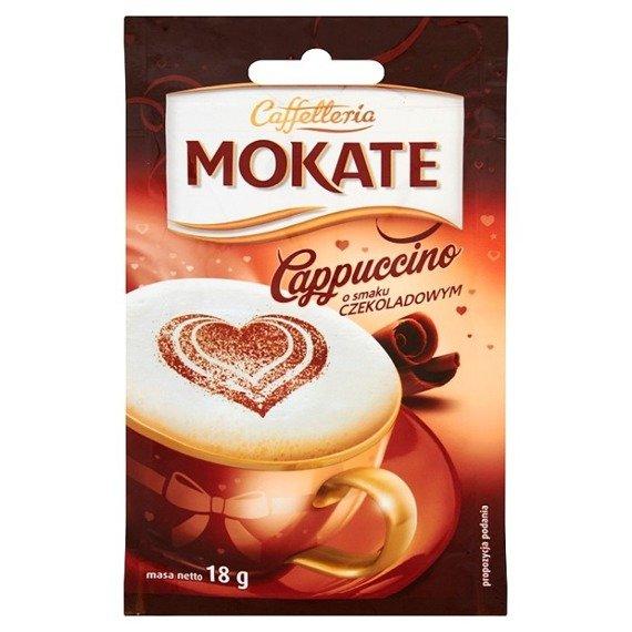 mokate caffetteria cappuccino mit schokolade 18g supermarkt online. Black Bedroom Furniture Sets. Home Design Ideas
