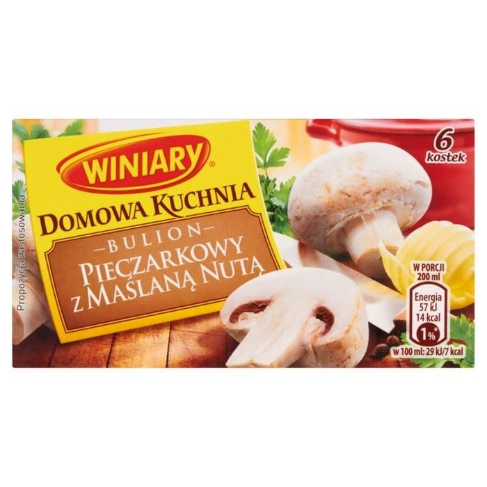 Domestic Kitchen Winiary mushroom broth with a hint of butter - online ...
