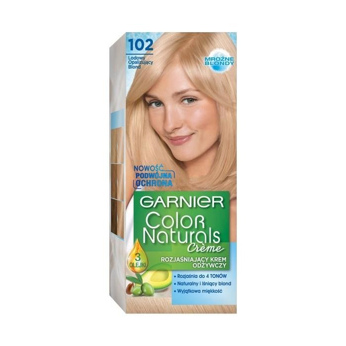 Garnier Color Naturals Nourishing Cr 233 Me Brightening Cream 102 Ice Iridescent Blond Online Shop