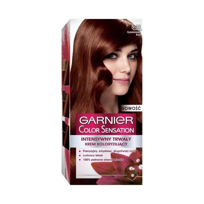 Garnier Color Sensation Cream Coloring 535 Cinnamon Brown Online