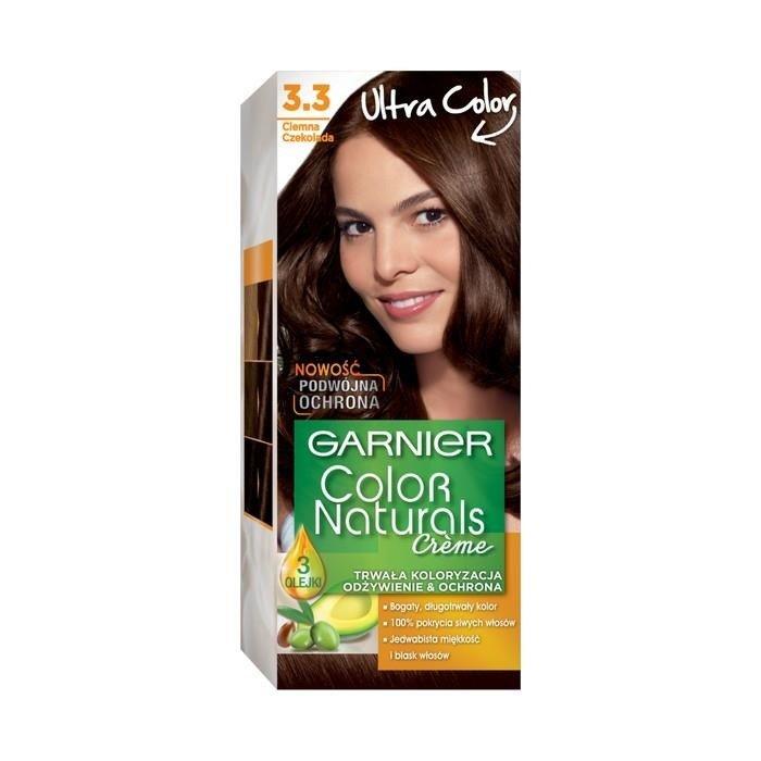 Garnier Créme Color Naturals Hair dye 3.3 Dark chocolate