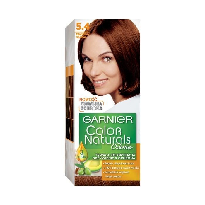 Garnier Crme Color Naturals Hair Dye 54 Copper Chestnut Online