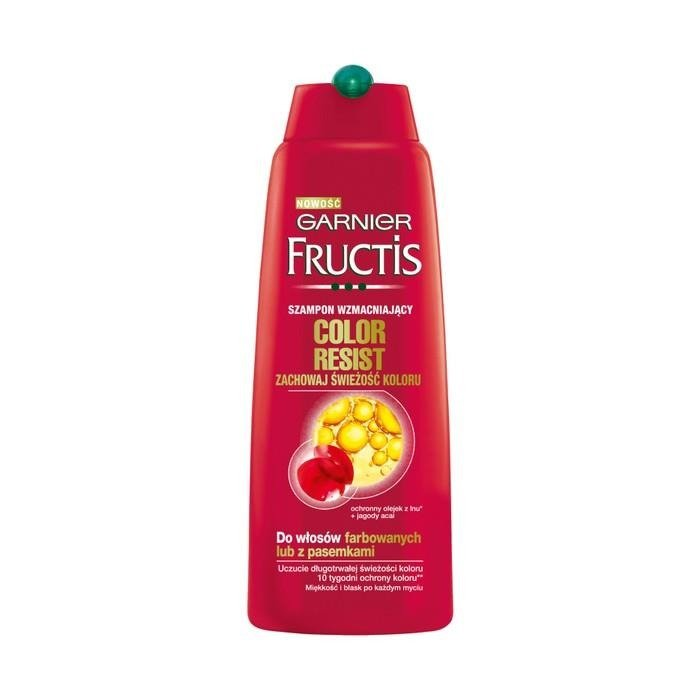garnier fructis color resist shampoo tonic 250ml - Fructis Color Resist