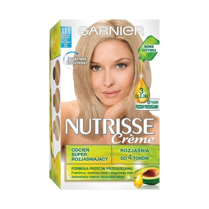 Garnier Nutrisse Crme Hair Dye 111 Very Very Light Ash Blonde