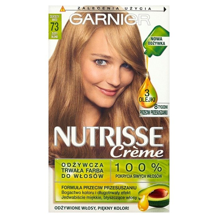 Garnier Nutrisse Crme Hair Dye 73 Golden Blond Online Shop