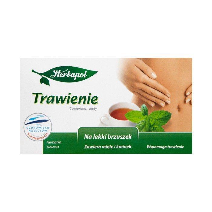 Herbapol digestion of dietary supplement herbal tea 40 g