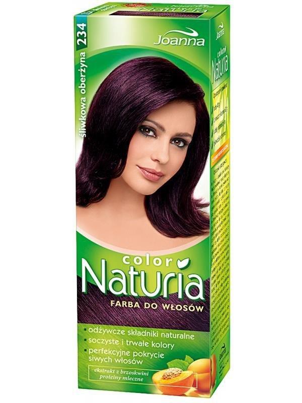 Joanna Naturia Color Hair Dye 234 Plum Eggplant Online Shop