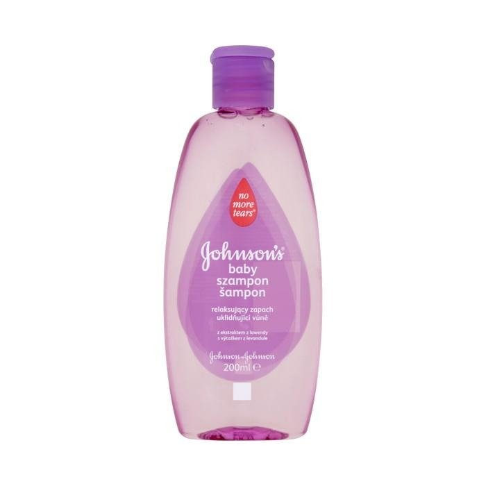 Johnson s Baby Shampoo relaxing scent of lavender extract 200ml - online  shop Internet Supermarket ca3356ca9a