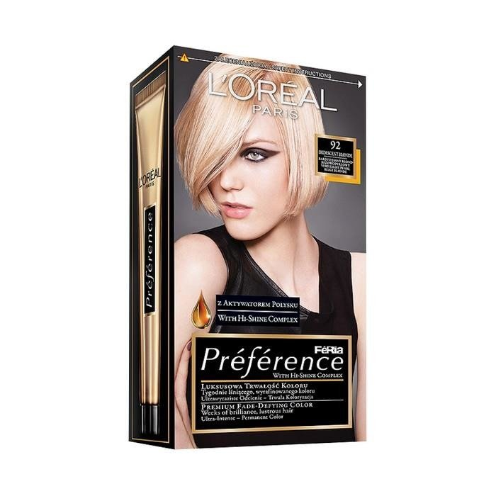 L Or 233 Al Paris Pr 233 F 233 Rence Feria Hair Dye 92 Iridescent