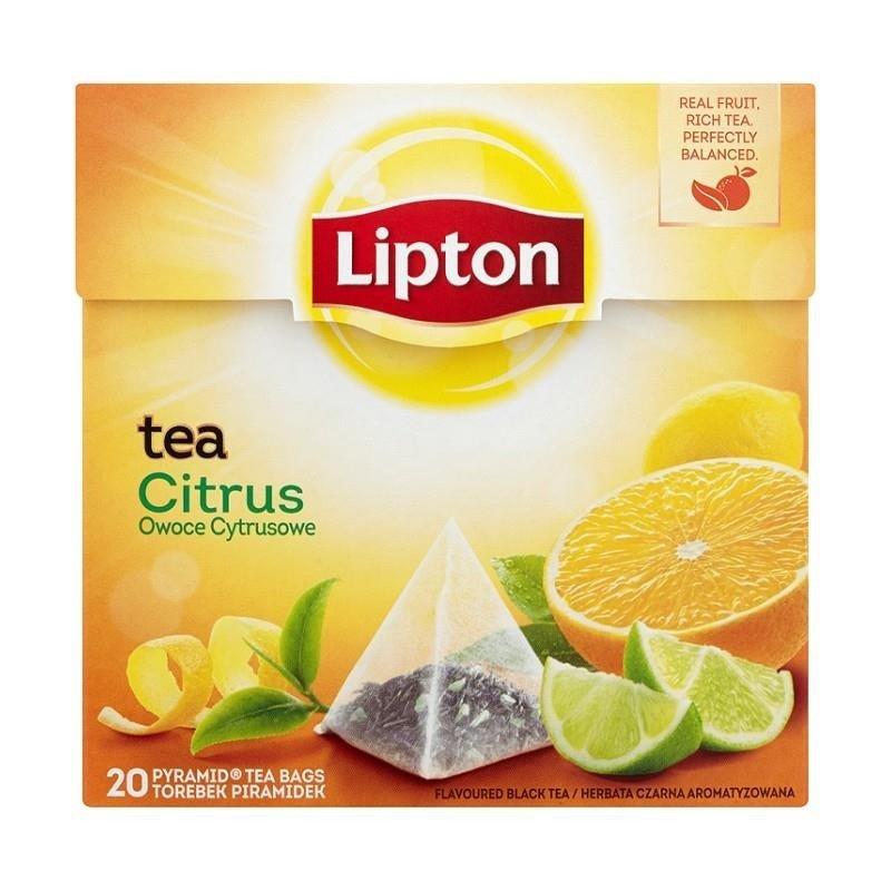 lipton citrus fruit tea black 36 g 20 bags online shop internet supermarket. Black Bedroom Furniture Sets. Home Design Ideas