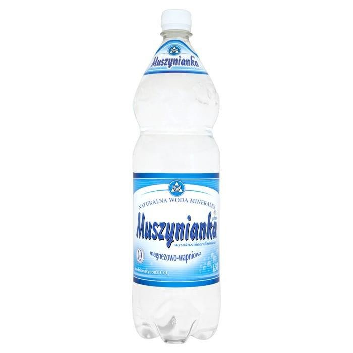 Muszynianka Natural Mineral Water Rich In Magnesium And Calcium 15l Online Shop Internet