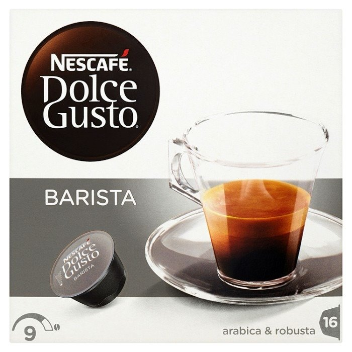 nescaf dolce gusto espresso barista coffee capsules 120 g 16 pieces online shop internet. Black Bedroom Furniture Sets. Home Design Ideas