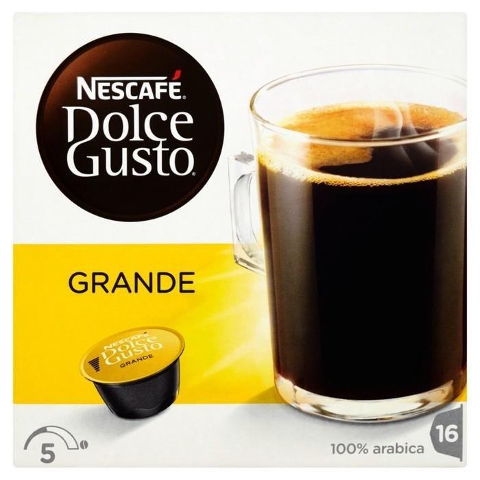 nescaf dolce gusto grande coffee capsules 128 g 16 pieces online shop internet supermarket. Black Bedroom Furniture Sets. Home Design Ideas