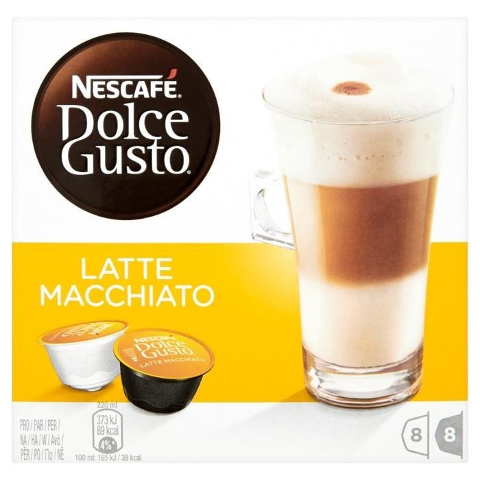 nescaf dolce gusto latte macchiato coffee capsules 194 4 g 16 pieces online shop internet. Black Bedroom Furniture Sets. Home Design Ideas