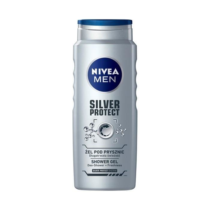 Nivea Nivea For Men Silver Protect Shower Gel 500ml