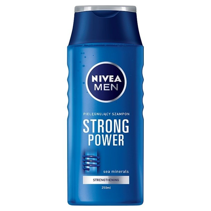 Men Hair Tonic 1950s: Nivea NIVEA MEN Strong Power Shampoo Normal Hair Tonic