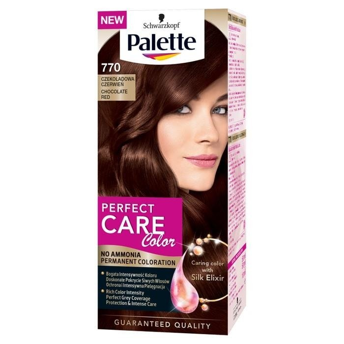 Palette Perfect Color Care Cream Chocolate Red Coloring 770 Online Internet Supermarket