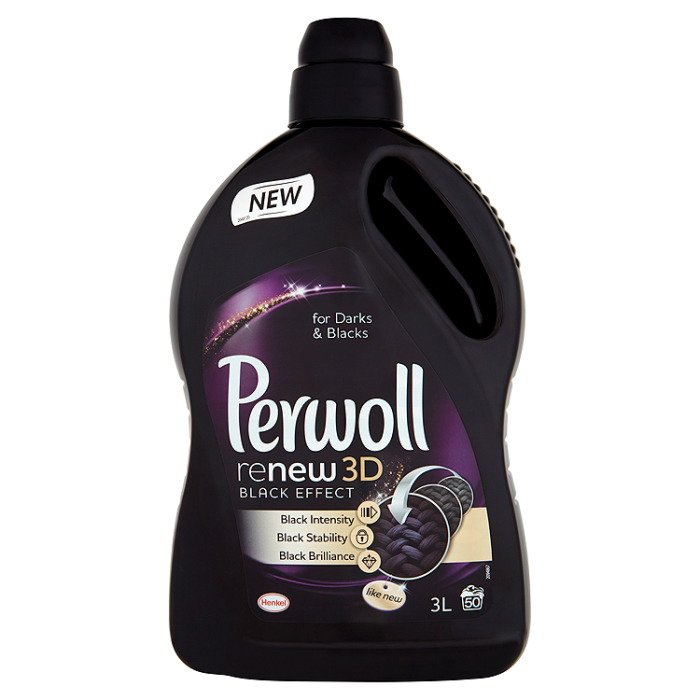 Perwoll Renew Black 3d Effect Detergent For Washing