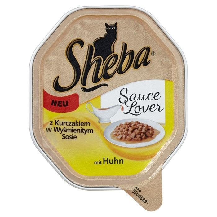 Sheba with chicken in a delicious sauce complete food 85g for Cuisines completes