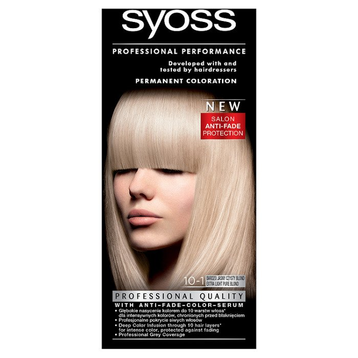 Syoss Hair Dye Very Bright Clean Blond 10 1 Online Shop Internet
