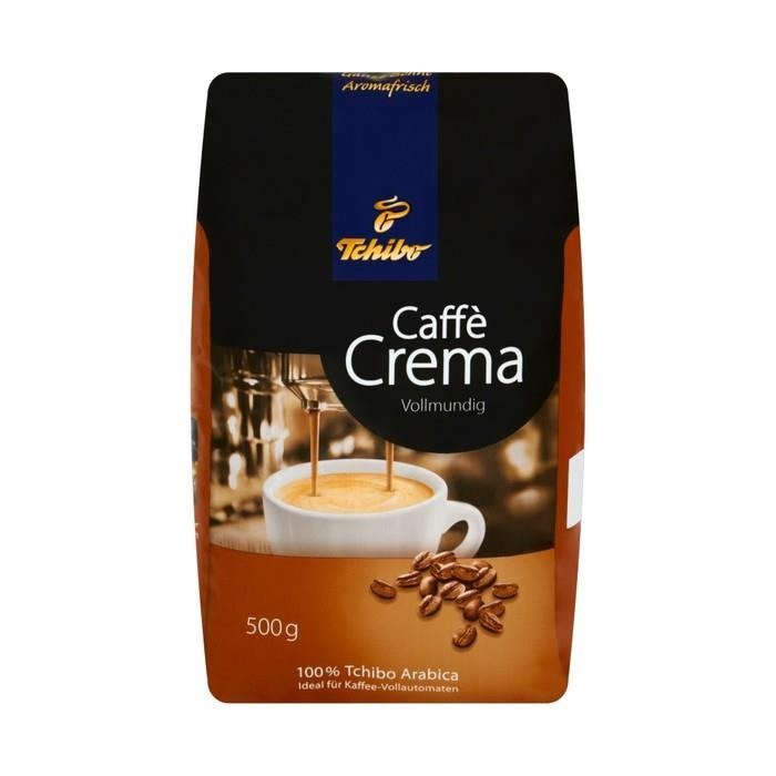 tchibo caff crema vollmundig roasted coffee beans 500g. Black Bedroom Furniture Sets. Home Design Ideas