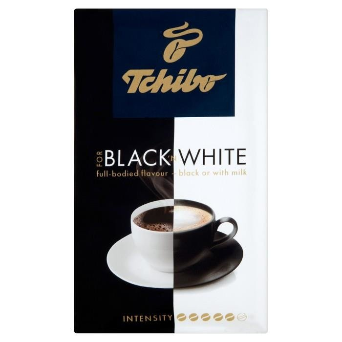 tchibo for black 39 n white ground coffee 250g online shop. Black Bedroom Furniture Sets. Home Design Ideas