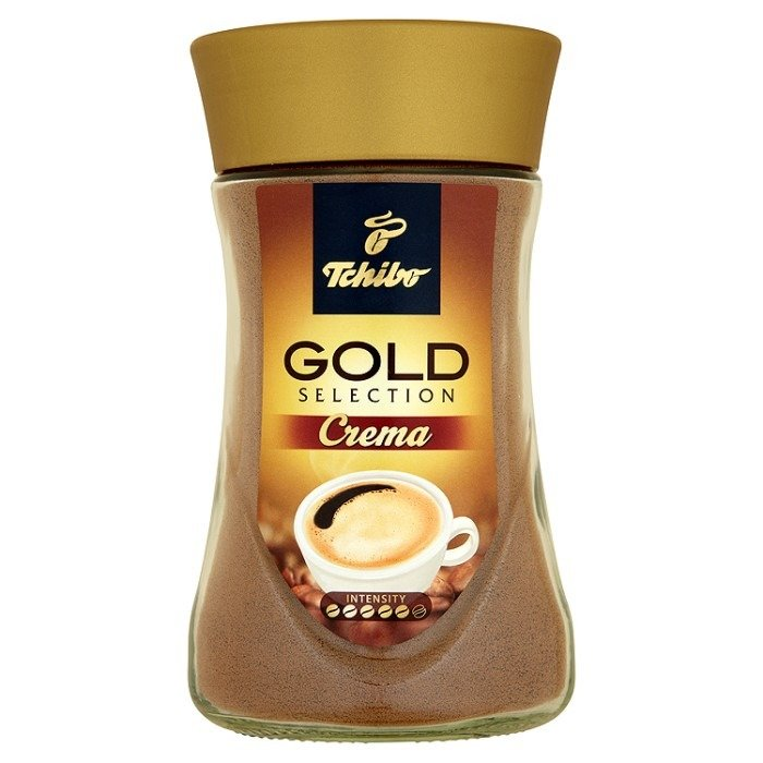 tchibo gold selection crema coffee instant 180g online. Black Bedroom Furniture Sets. Home Design Ideas