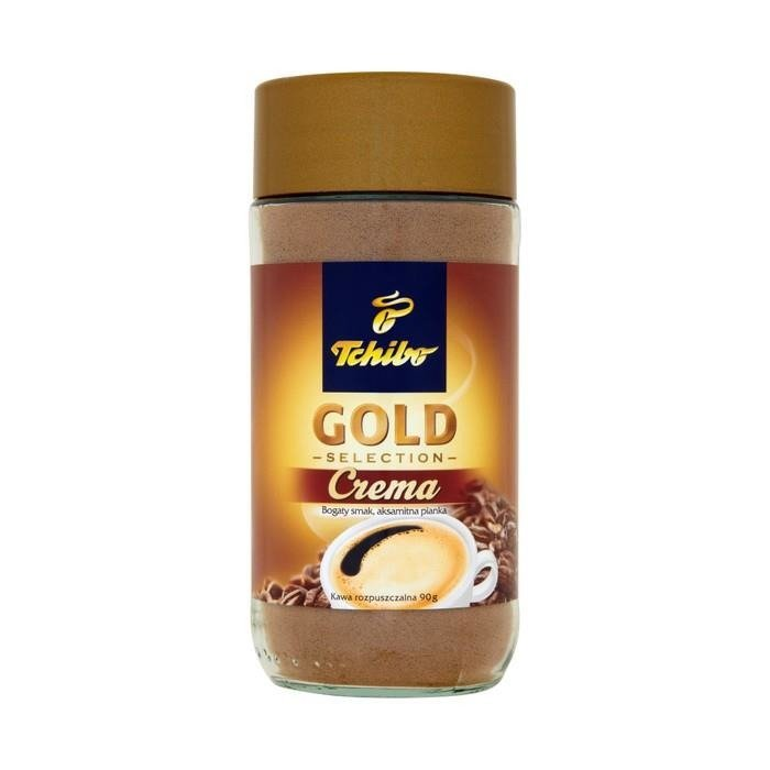 tchibo gold selection crema instant coffee 90g online. Black Bedroom Furniture Sets. Home Design Ideas