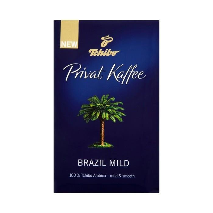 tchibo privat kaffee brazil mild roasted coffee beans 250g. Black Bedroom Furniture Sets. Home Design Ideas