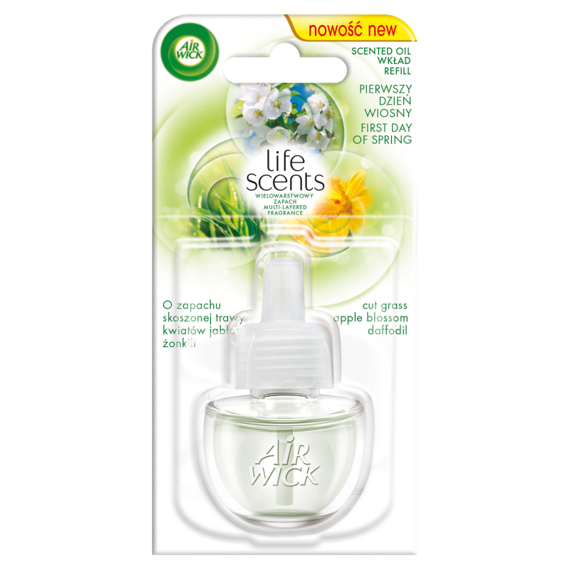 Air Wick Life Scents contribution to the electric freshener first day of spring 19ml