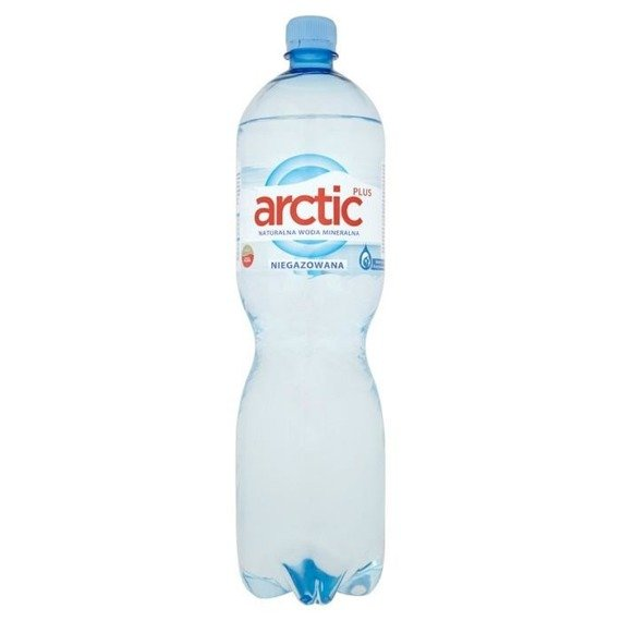 Arctic plus natural still mineral water 1,5l