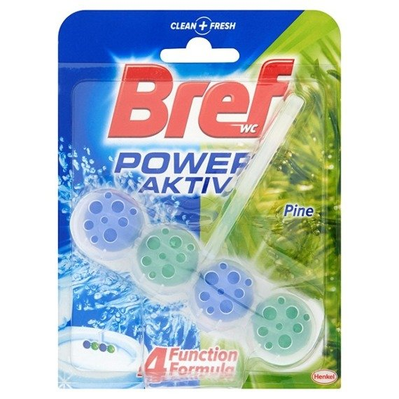Bref WC Power Aktiv Pine hanger to the toilet bowl 50g