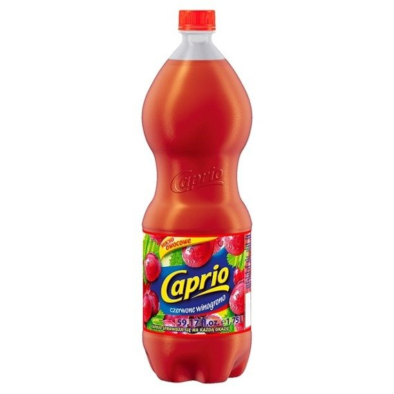 Caprio red grape drink 1,75l