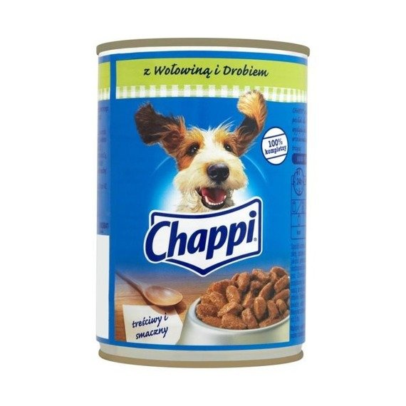 Chappi beef and poultry complete food 400g online shop for Cuisines completes