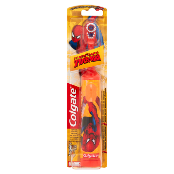 Colgate Spider-Man Toothbrush battery