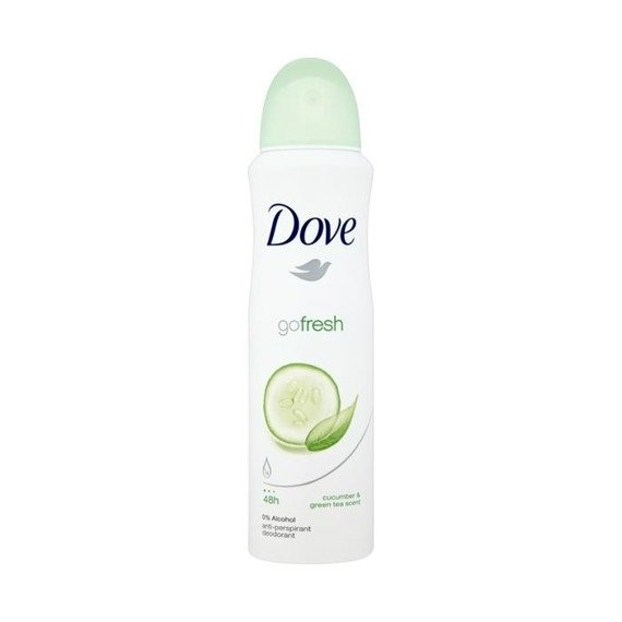 Dove Go Fresh Cucumber and Green Tea Anti-perspirant spray 150ml