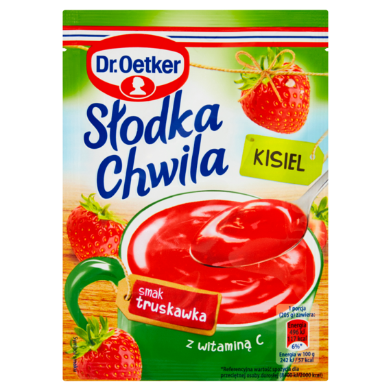 Dr. Oetker Sweet Moment Jelly strawberry flavor 30g