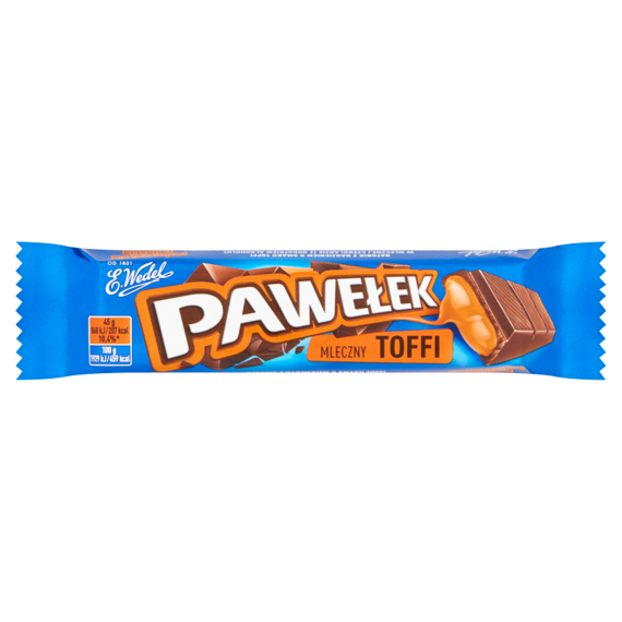 E. Wedel Pawełek The bar milk toffee 45g