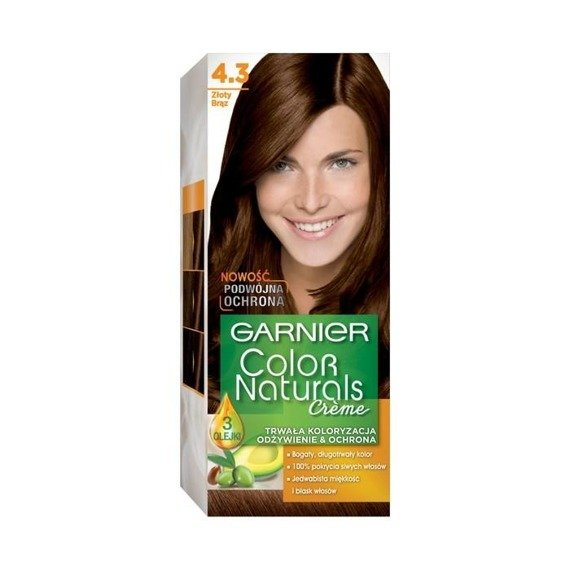 Garnier Créme Color Naturals Hair dye 4.3 golden brown