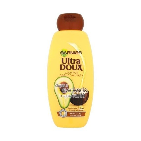 Garnier Ultra Doux Avocado And Shea Shampoo 400ml