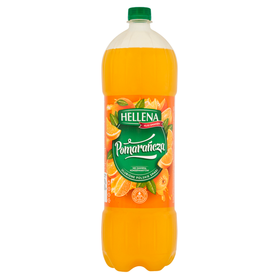 Hellena Family non-carbonated drink flavored with orange 1,75l