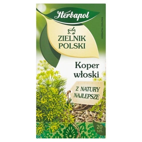 Herbapol Herbarium Polish Fennel Herbal tea 40 g (20 bags)