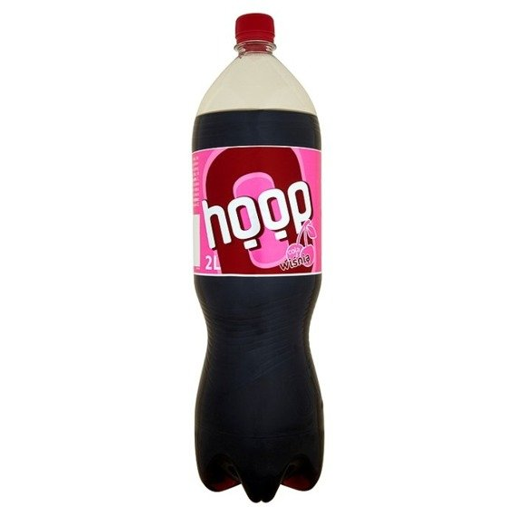 Hoop Cola with cherry drink carbonated 2l