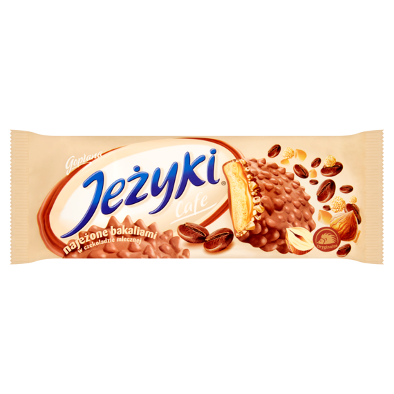 Jeżyki Biscuits Cafe in milk chocolate 140g